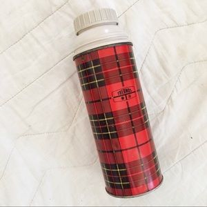 VTG Small Plaid Thermos